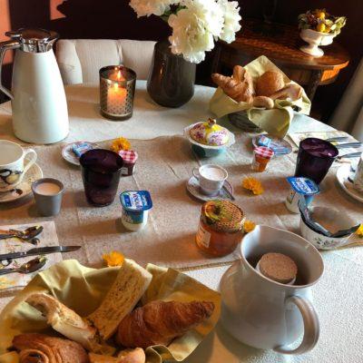 Le petit-déjeuner au Château