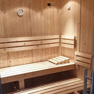 Sauna - intérieur